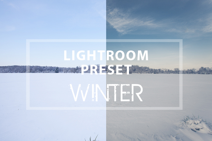 Mein Lightroom Preset Winter zum Download
